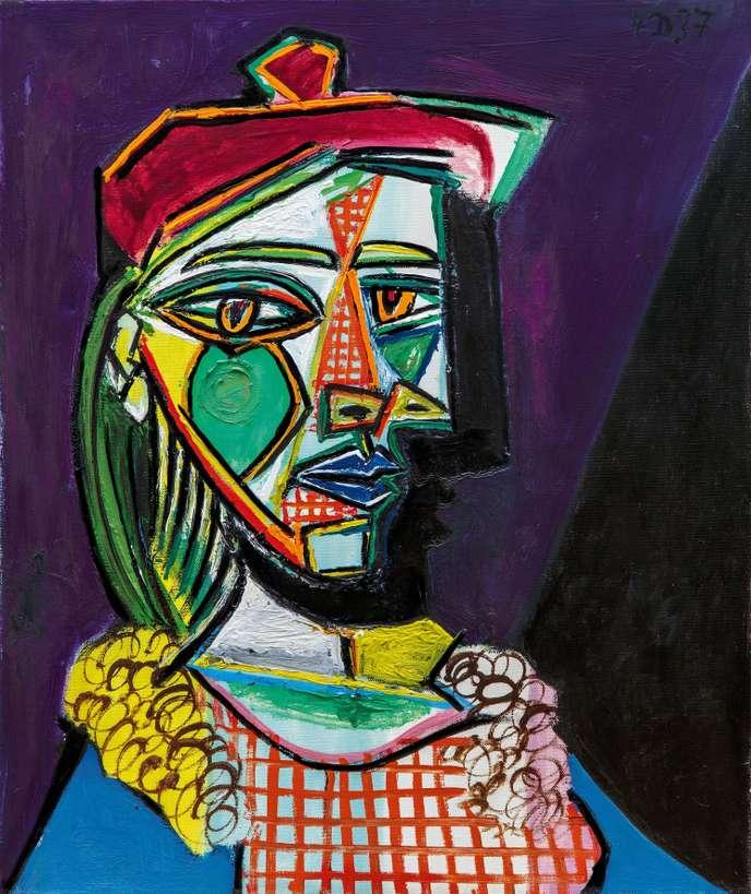 La femme au béret - Picasso